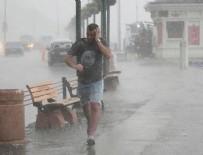 DOĞU AKDENİZ - Meteoroloji'den sağanak yağış uyarısı.