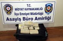 Midyat'ta 4,5 Kilogram Eroin Ele Geçirildi
