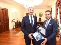 ADLİYE BİNASI - Milletvekili İshak Gazel, Adalet Bakanı Abdulhamit Gül İle Görüştü