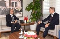 MAHMUT DEMIRTAŞ - Müsteşar Gümüş, Vali Demirtaş'tan Kentteki Sağlık Hizmetleriyle İlgili Bilgi Aldı