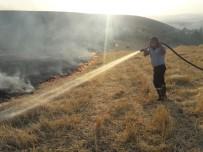 İTFAİYE MÜDÜRÜ - Siirt'te Anız Yangını