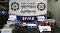 MUHALEFET - Sivas'ta Kaçak Sigara Operasyonu