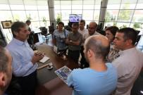 YAMAÇ PARAŞÜTÜ - Turizm Bakanlığı Heyetinden, Başkan Alemdar'a Ziyaret