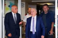 Vali Kamçı'dan Türk Telekom Bölge Müdürlüğüne Ziyaret