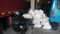 KAÇAK SİGARA - Van'da 91 Bin 500 Paket Kaçak Sigara Ele Geçirildi
