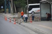 TOPLU TAŞIMA - Yeşiltepe-Kepez Yolunda Ki Cep Ve Duraklar Yapılıyor