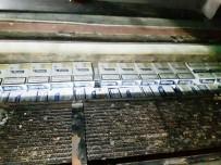 Zuladaki Kaçak Sigaralar Narkotik Köpeğinden Kaçmadı