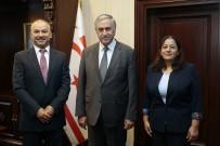MUSTAFA AKINCI - Akıncı, Yeni Atanan Trabzon Ve Antalya Başkonsoloslarını Kabul Etti