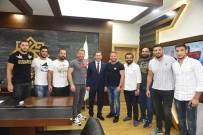 YÜKSEK LISANS - Başpehlivan Balaban'dan, Başkan Yılmaz'a Teşekkür