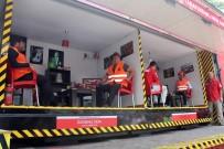 BEŞIKTAŞ BELEDIYESI - Beşiktaş'ta Nefes Kesen Deprem Tatbikatı