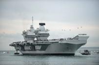 SAVAŞ GEMİSİ - Birleşik Krallığın Yeni Uçak Gemisi 'HMS Queen Elizabeth' Limana Geldi