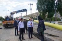 AHMET EREN - Bitlis'te Doğalgaz Çalışması