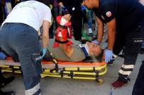 BAHÇELİEVLER - Bolu'da Trafik Kazası Açıklaması 2 Yaralı