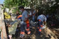EVDE ÇALIŞMA - Çöp Evden Yılan Çıktı