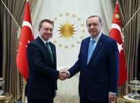 BROWN - Cumhurbaşkanı Erdoğan, Avustralya Büyükelçisi Brown'u Kabul Etti