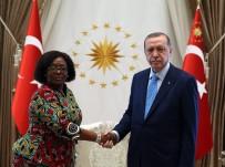 TANZANYA - Cumhurbaşkanı Erdoğan, Tanzanya Büyükelçisi Kiondu'yu Kabul Etti