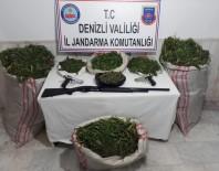 KOCABAŞ - Denizli'de 25 Kilo Uyuşturucu Yakalandı