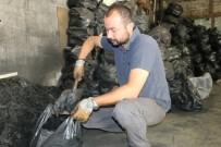 MANGAL KÖMÜRÜ - Eskişehir'de Bayram Öncesi Mangal Kömürü Satışları