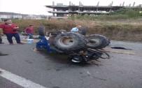 Fındık İşçileri Taşıyan Traktör Devrildi Açıklaması 10 Yaralı
