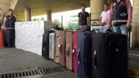KAÇAK SİGARA - Havalimanında 100 Bin Liralık 'Kaçak Sigara' Operasyonu
