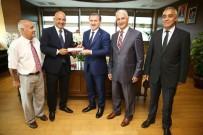 KIŞ OLİMPİYATLARI - Ilıcalı, Bakan Bak'ı Makamında Ziyaret Etti