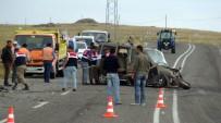 KAFKAS ÜNİVERSİTESİ - Kars-Ani Yolunda Trafik Kazası Açıklaması 1 Ölü, 4 Yaralı