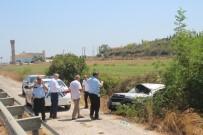 KıZıLAĞAÇ - Kontrolden Çıkan Araç Şarampole Yuvarlandı Açıklaması 1 Yaralı