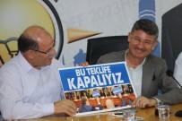 Memur-Sen Heyeti Zam İçin AK Parti Adana İl Başkanı Yeni'nin Kapısını Çaldı