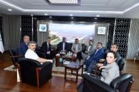 Nevşehir Heyeti  İller Bankası Ve DSİ'yi Ziyaret Etti