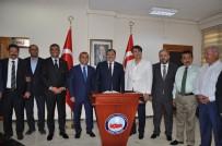 YANGINA MÜDAHALE - Orman Ve Su İşleri Bakanı Eroğlu, Tunceli'de