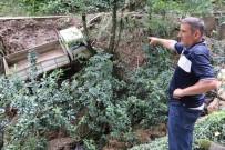 BALCı - Rize'de Şiddetli Yağış Hasara Yol Açtı