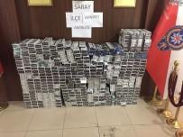 MUHALEFET - Saray'da Kaçak Sigara Operasyonu