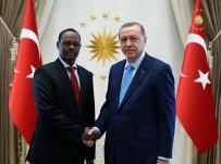 SOMALI - Somali Büyükelçisinin Güven Mektubunu Aldı