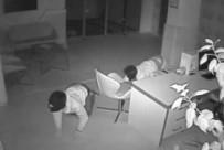 ELEKTRONİK EŞYA - Sürüngen Hırsızlar Kamerada
