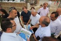 ORÇUN - Tarihi Koyunbaba Köprüsünün Çevresi De Taş Duvar Olacak