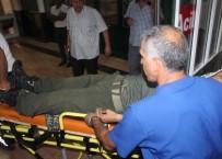 Üzerine Yıldırım Düşen Asker Yaralandı