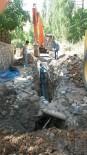 Van'ın Bahçesaray'da Alt Yapı Çalışmaları Devam Ediyor