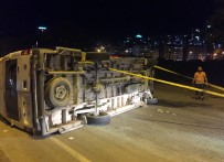 Yolcu Minibüsü İle Otomobil Çarpıştı Açıklaması 12 Yaralı