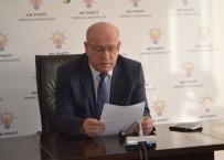 BASIN TOPLANTISI - AK Parti Şırnak İl Başkanı İstifa Etti