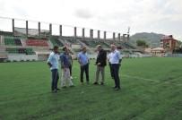 Araklıspor Kulübü'nün 'Risk'li Projesine Gençlik  Hizmetleri Ve Spor İl Müdürlüğü'nden Destek