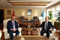TERMAL TURİZM - ATO Yönetimi Kültür Ve Turizm Bakanı Kurtulmuş'u Ziyaret Etti