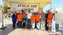 FARKıNDALıK - Ayvalık'ta Kent Konseyi 17 Ağustos Felaketini Unutmadı