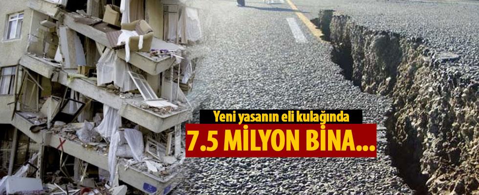 Bakan Özhaseki: Yeni yasanın eli kulağında, 7.5 milyon bina