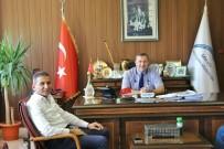 MILLI EĞITIM MÜDÜRLÜĞÜ - Baro Başkanı Er, Milli Eğitim Müdürü Koca İle Bir Araya Geldi