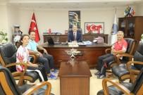 AVRUPA - Başkan Şirin Türkiye 3.'Sü Edanur'u Makamında Ağırladı