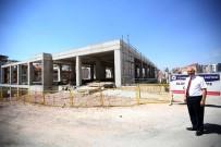 GAZI MUSTAFA KEMAL - Başkan Yaşar İlçedeki Dev Yatırımları Yerinde İnceledi