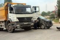 Bilecik'te Kaza Açıklaması 1 Yaralı