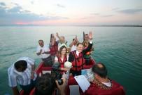 TELEVİZYON - Dünya Evine Göl Ortasında Girdiler