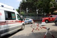 İTFAİYE ARACI - Erzurum'da Askeri Karargahta Çıkan Yangın Paniğe Yol Açtı