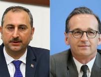 ADALET BAKANI - Adalet Bakanı Gül Alman mevkidaşı ile telefonda görüştü